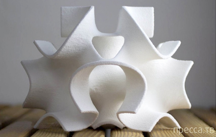 3Д-Сахар -Красивые фигуры напечатанные сахарным порошком (7фото)