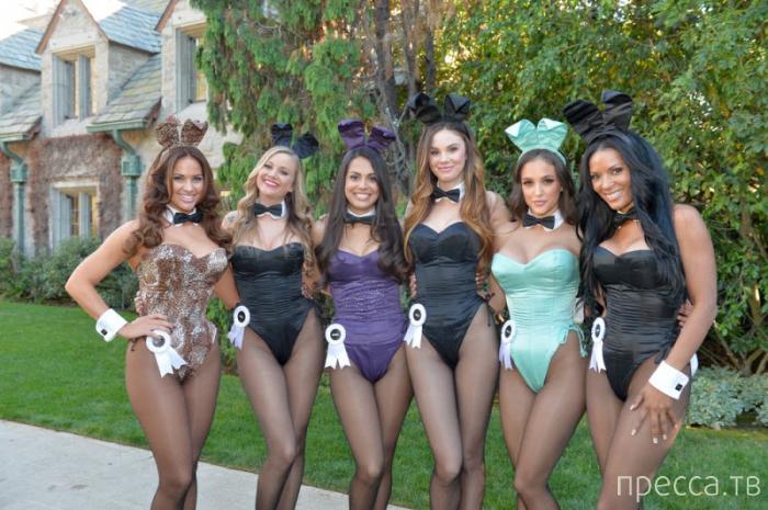"""Празднование 60-летия """"Playboy"""" (25 фото)"""
