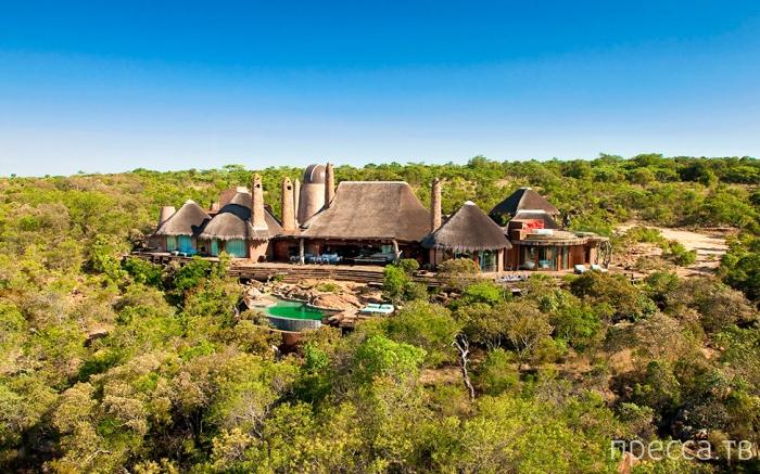 Leobo Private Reserve — роскошная вилла в провинции Лимпопо (19 фото)