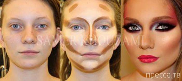 Косметика делает реальные невообразимые изменения. Портфолио известного вихажиста Samer Khouzami (10 фото)