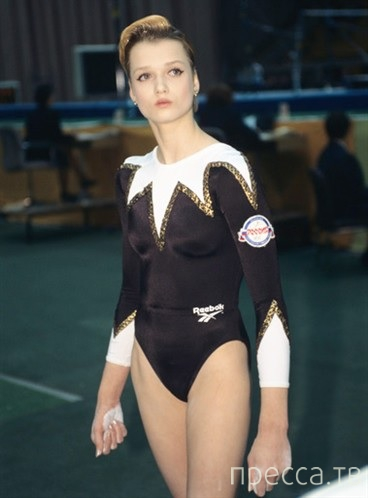 Звезда спортивной гимнастики - Светлана Хоркина (5 фото + 5 видео)