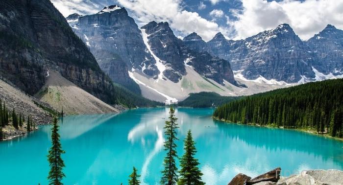 Канадское озеро Пейто - самое фотографируемое на планете (6 фото)