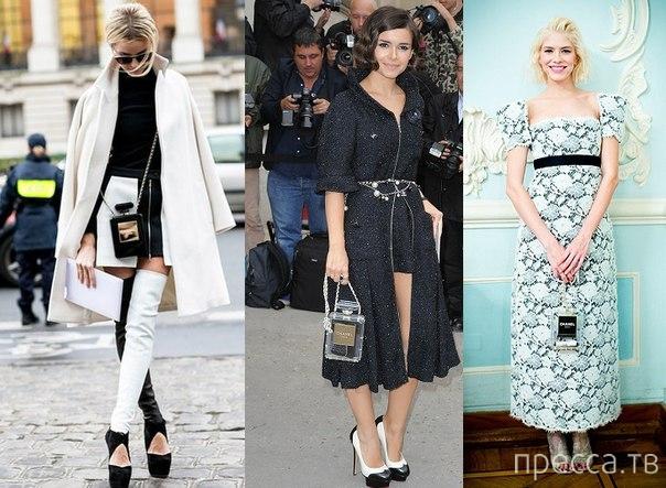 Самые модные дамские сумочки... (4 фото)