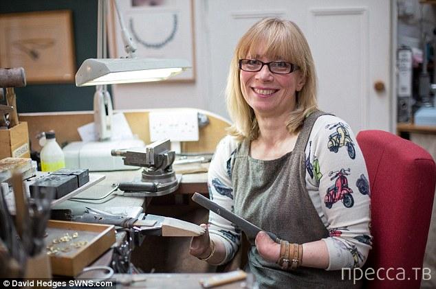 Ювелир без пальцев - история успеха 48-летней Аннет Гэббеди (10 фото)