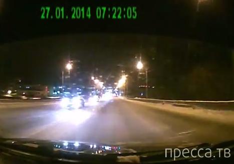 Лобовое столкновение на Калининском мосту, г. Чебоксары