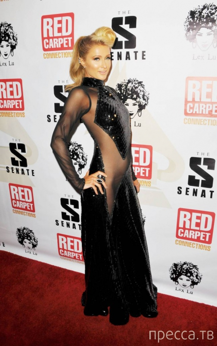Пэрис Хилтон на Pre Grammy 2014 (8 фото)