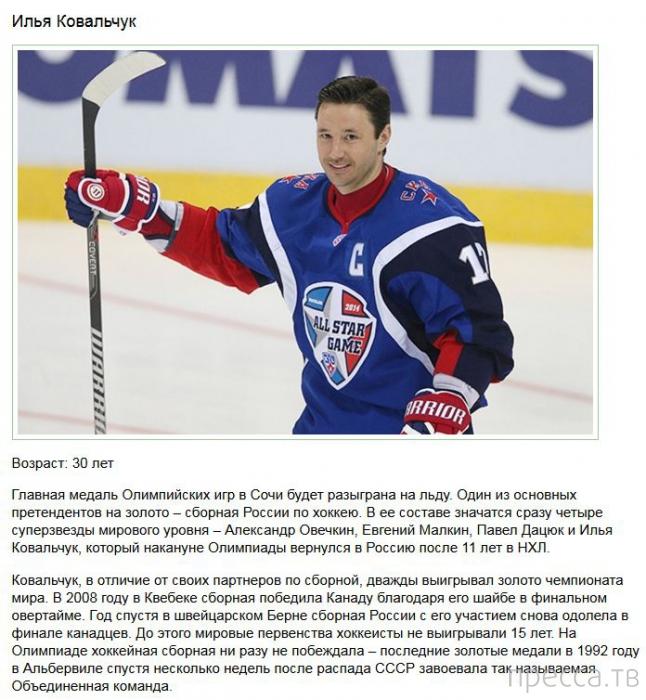 Топ 10: Самые успешные российские спортсмены (10 фото)