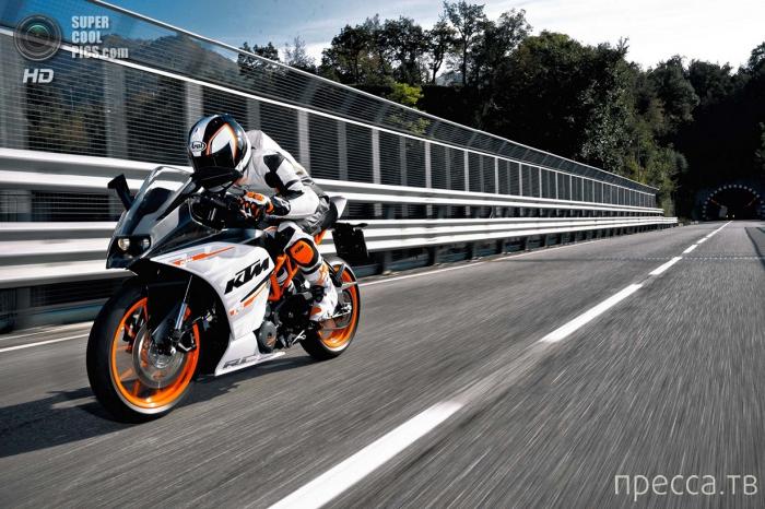 Мотоцикл KTM RC 390 (11 фото)