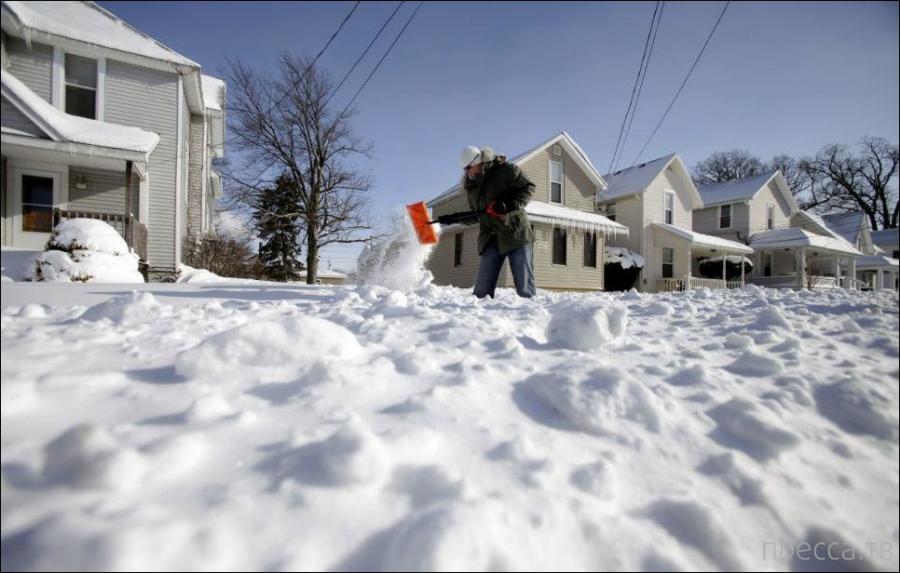 США в условиях русской зимы (48 фото)