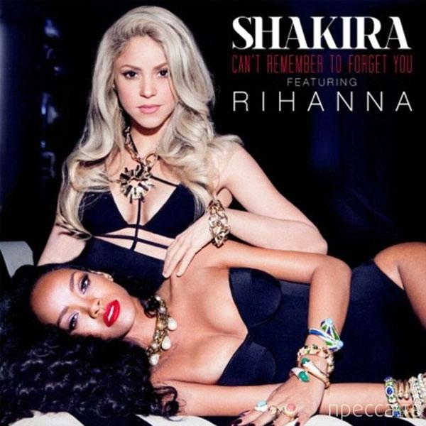 Шакира и Рианна представили совместный откровенный клип на новую композицию (фото + видео)