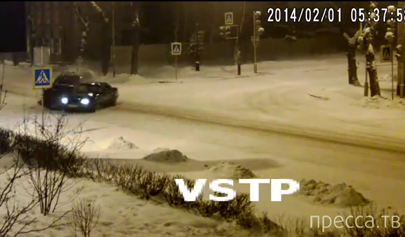 Столкновение на перекрестке... г. Иркутск