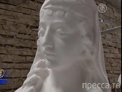 Живые скульптуры из Китая... Шок!