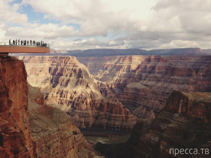 Смотровая площадка Гранд-Каньона Skywalk (18 фото)