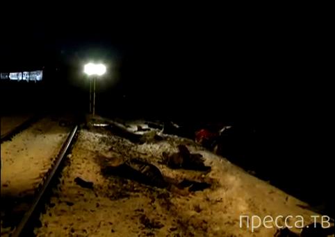 Жесть!!! 13 человек погибли... Поезд протаранил маршрутку. ДТП возле села Виры, Сумская область, Украина