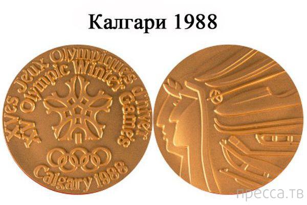 Дизайн медалей в разные годы Олимпийских игр (22 фото)