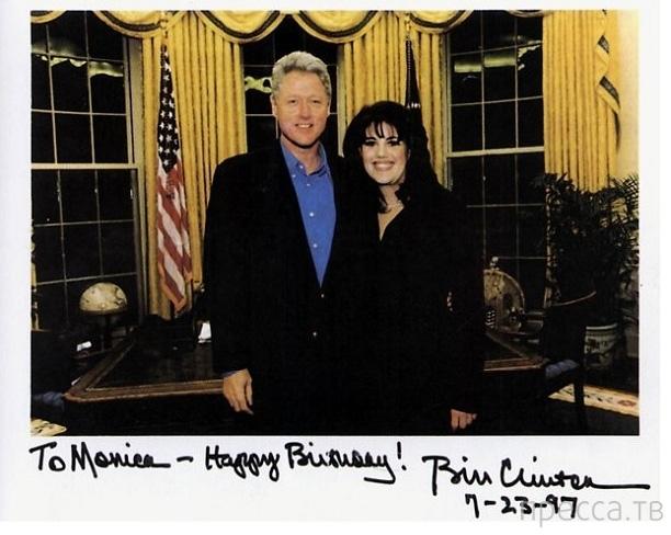 Роман Билла Клинтона с актрисой Элизабет Херли (5 фото)