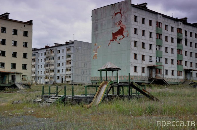 Топ 7: Советские города-призраки (5 фото + 2 видео)