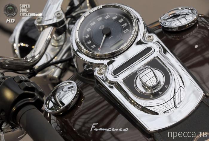 Выставка-аукцион ретро-автомобилей в Гран-Пале в Париже (19 фото)