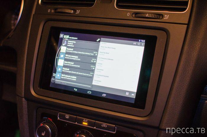 Фотоинструкция: как вставить планшет в автомобиль (12 фото)