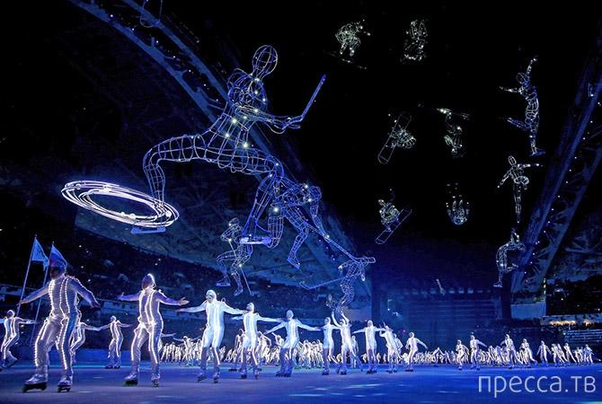 Церемония открытия зимних Олимпийских игр 2014 в Сочи (45 фото)