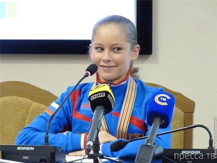 Юлия Липницкая - самая юная чемпионка в истории зимних Олимпийских игр (11 фото)