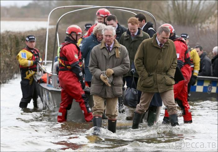 Наводнение на юго-западе Англии (22 фото)
