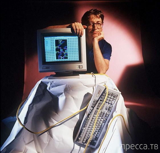 Интересные факты из жизни Билла Гейтса (17 фото)