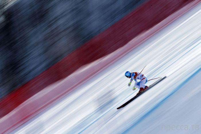 Подборка красивых и эмоциональных спортивных фотографии первых дней Олимпиады в Сочи (41 фото)