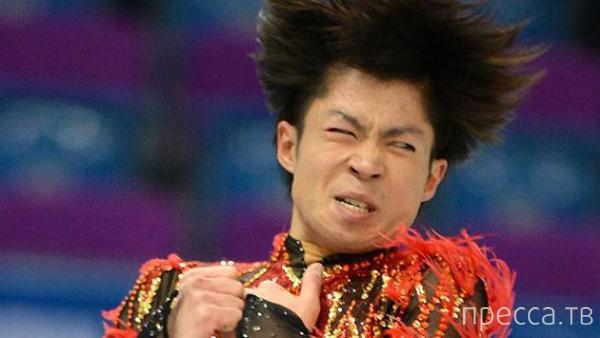 Фотографии самых смешных выражений лиц спортсменов, выступающих в фигурном катании (11 фото)