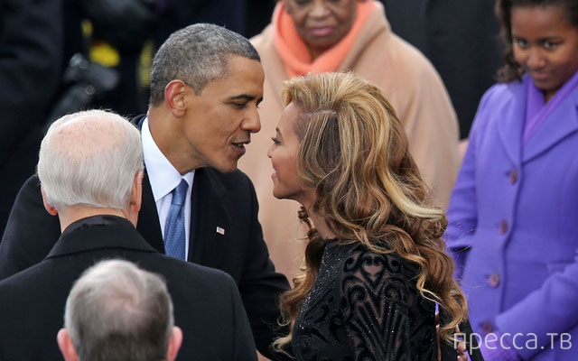 Бейонсе впервые прокомментировала слухи о романе с Обамой (5 фото)