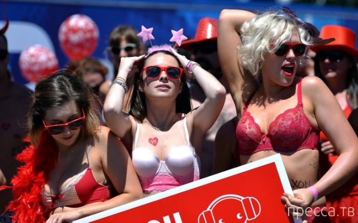 """Благотворительный забег в нижнем белье - """"Cupid's Undie Run"""" в г. Сидней, Австралия (11 фото)"""