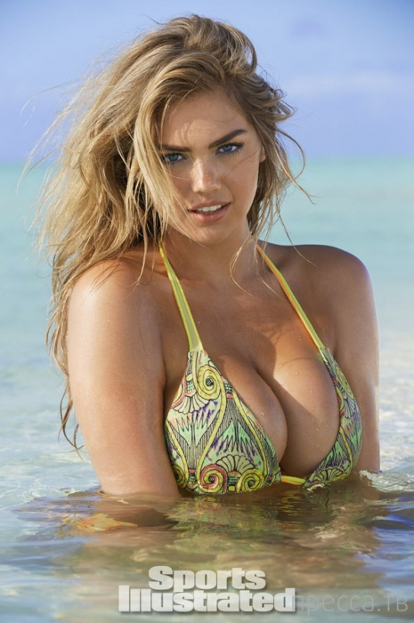 Летающая Кейт Аптон для SI 2014 Sports Illustrated Swimsuit issue (10 фото)