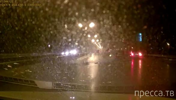 Занос по мокрой дороге... ДТП на ул. 9-я Тихая, г. Краснодар