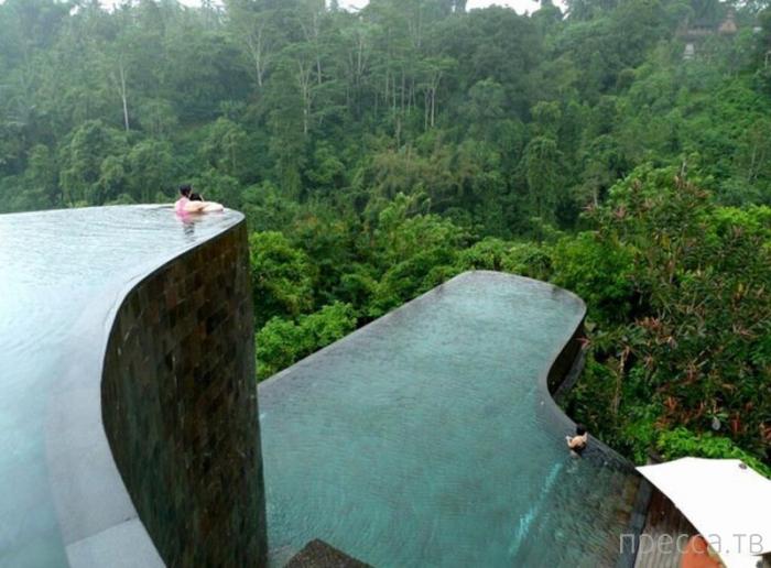 Топ 10: Самые невероятные бассейны, которые находятся в отелях (10 фото)