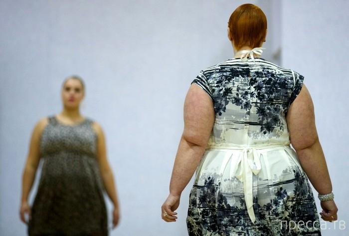 Коллекция модельера Жан-Пьера Браганзы для женщин с пышными формами (12 фото)