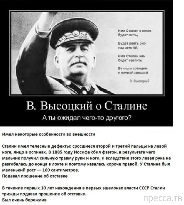 Интересные факты о И.В. Сталине (12 фото)