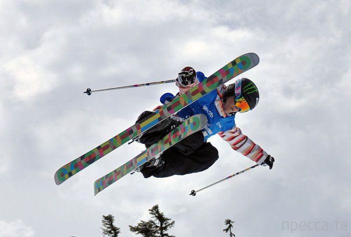 В день закрытия Олимпиады в Сочи был развеян прах Сары Берк (2 фото)