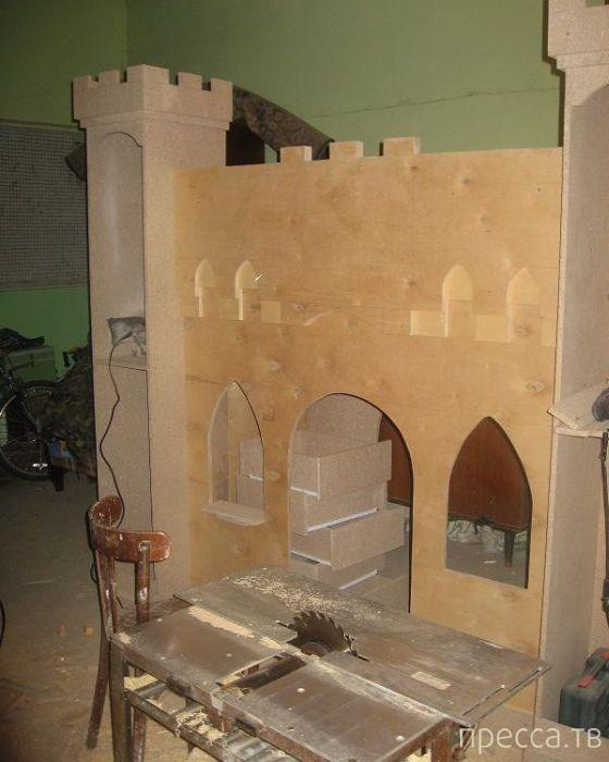 Сказочный домик для дочери своими руками (21 фото)