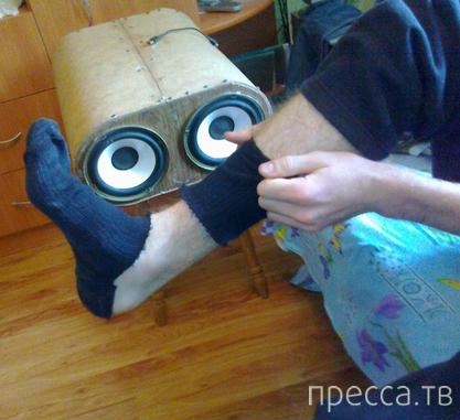 Ода мужским носкам...