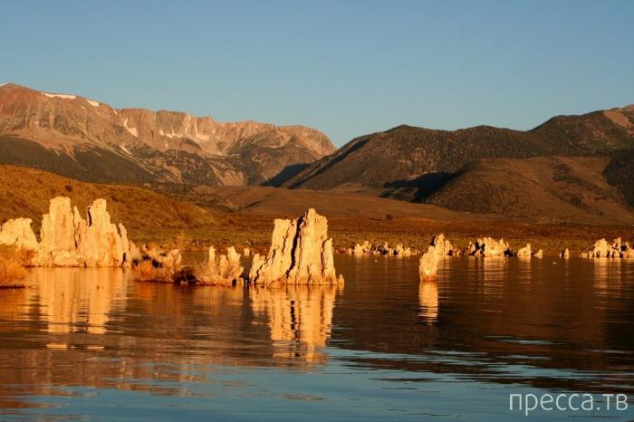 Озере Моно - солёное озеро в Калифорнии (10 фото)
