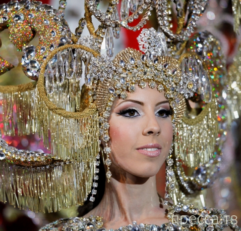 Королева карнавала Санта-Крус-де-Тенерифе (24 фото)