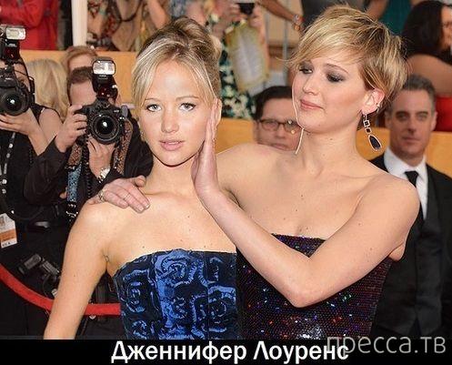 """Актеры сами с собой """"молодыми"""" (10 фото)"""