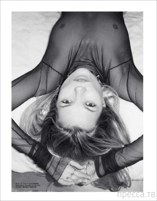 Кейт Мосс разделась для журнала Lui Magazine (10 фото)