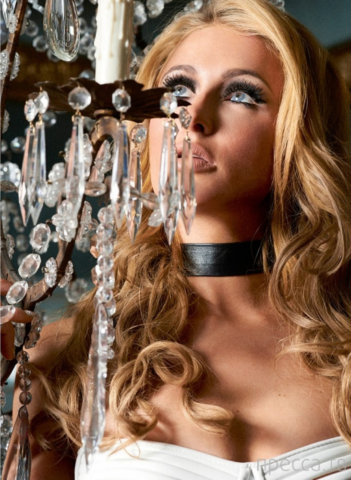 Перис Хилтон для журнала V magazine (7 фото)