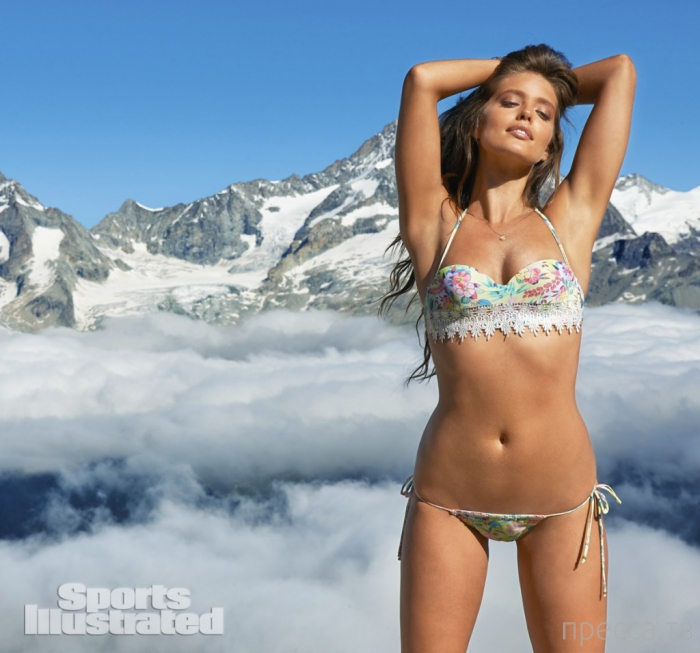 Фотосессия Эмили Ди Донато в горах для Sports Illustrated (17 фото)