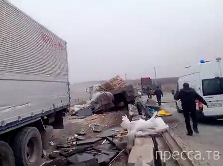Внезапно отказали тормоза... Серьезная авария на  трассе Уссурийск-Владивосток. Все живы!!!