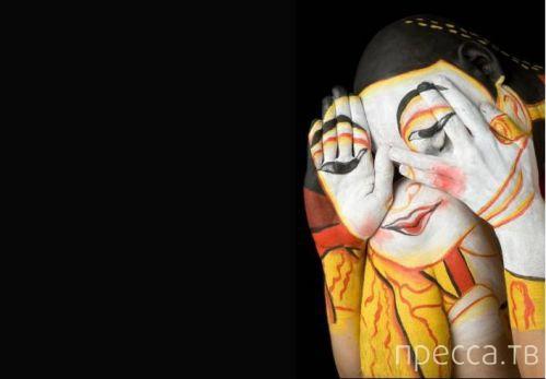 Боди-арт – одно из самых ярких и смелых направлений в современном искусстве (22 фото)