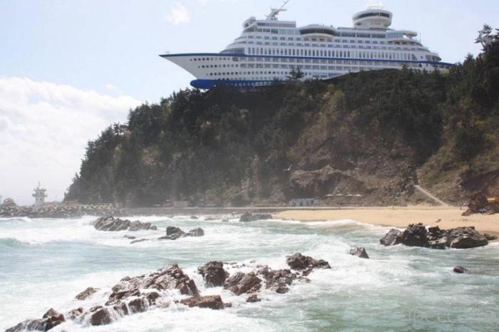 Необычный отель Sun Cruise в Южной Корее (7 фото)