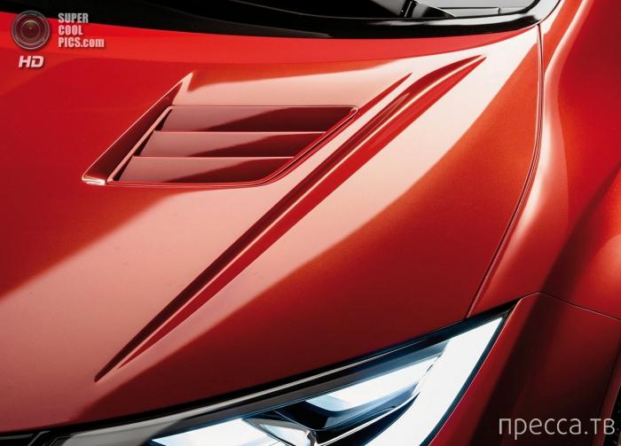 Японская новинка - Honda Civic Type R (11 фото)
