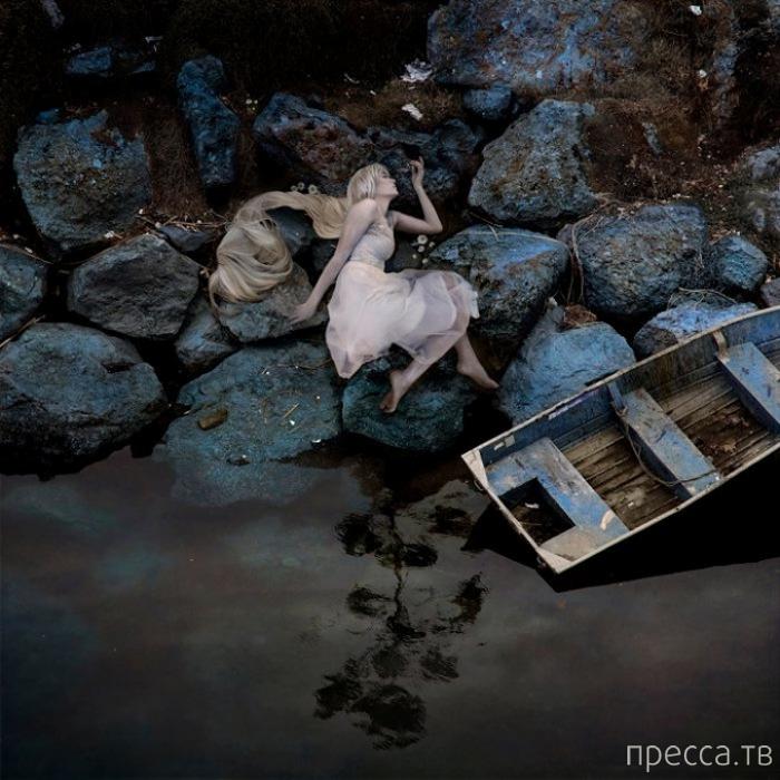 Сюрреалистические портреты от Тины Шульц (17 фото)